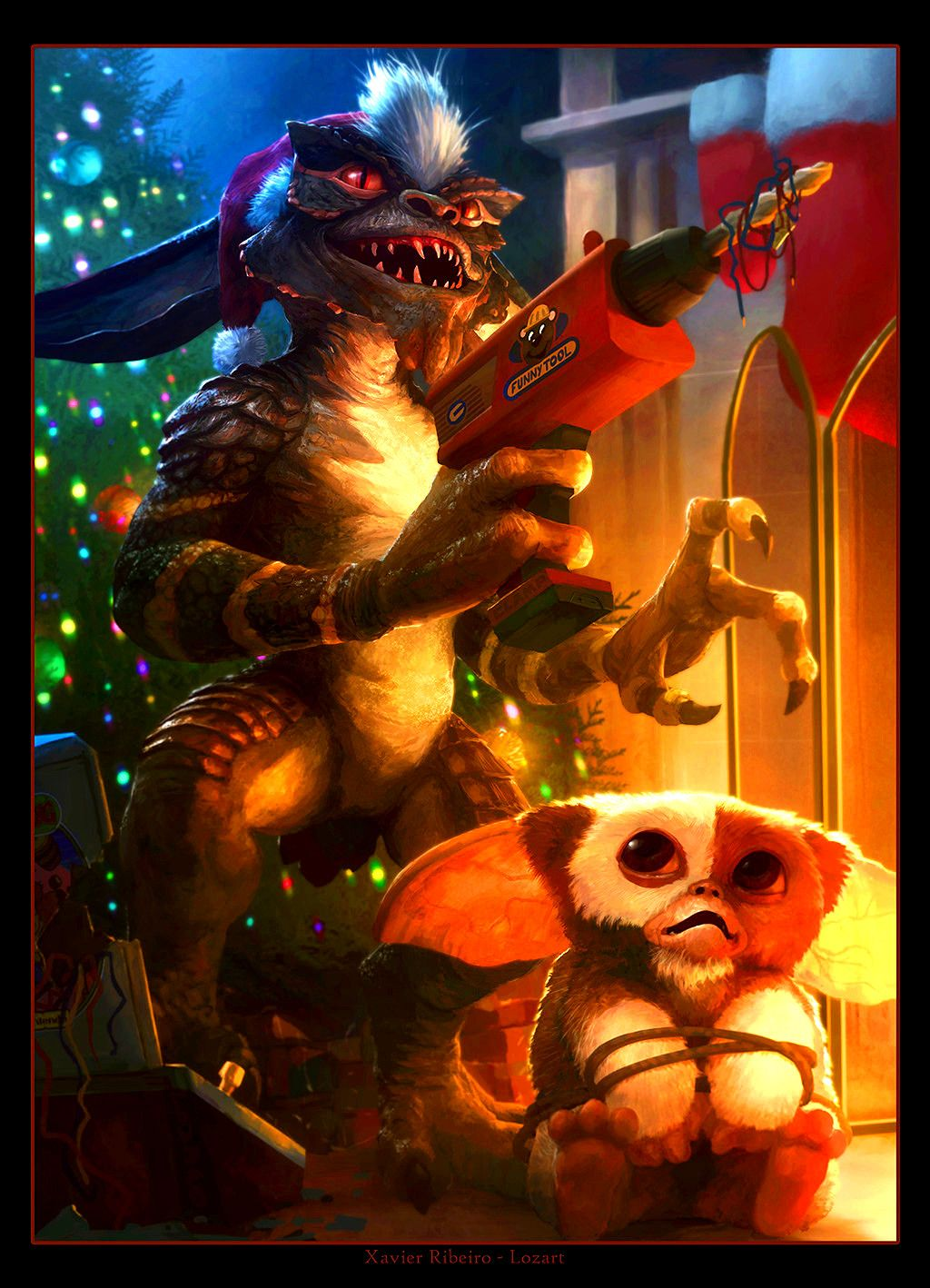 Pin by HORROR AND MORE HORROR on Gremlins Art