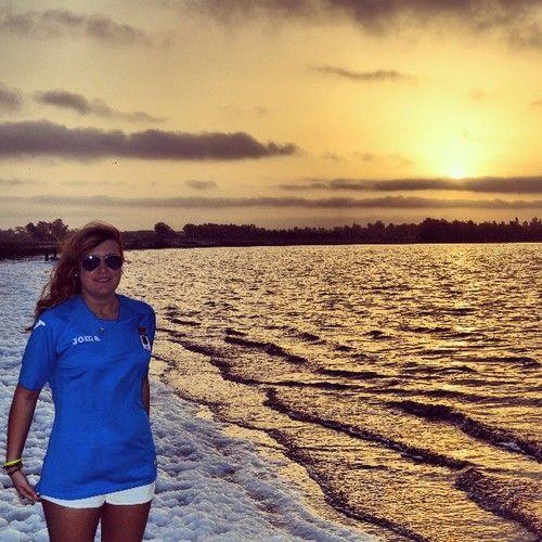 "Comment: sofiso9 said Con la camiseta a todas partes #RealOviedo #LagoRosa #senegal #africa :):):):)"""