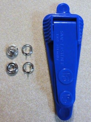 Dritz Easy Attacher Snap Fastener Kit Tutorial | Sewing for