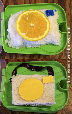 Camera Bento - Photography for Lunch!  Quick lunch boxes for kids (and grown ups young at heart)