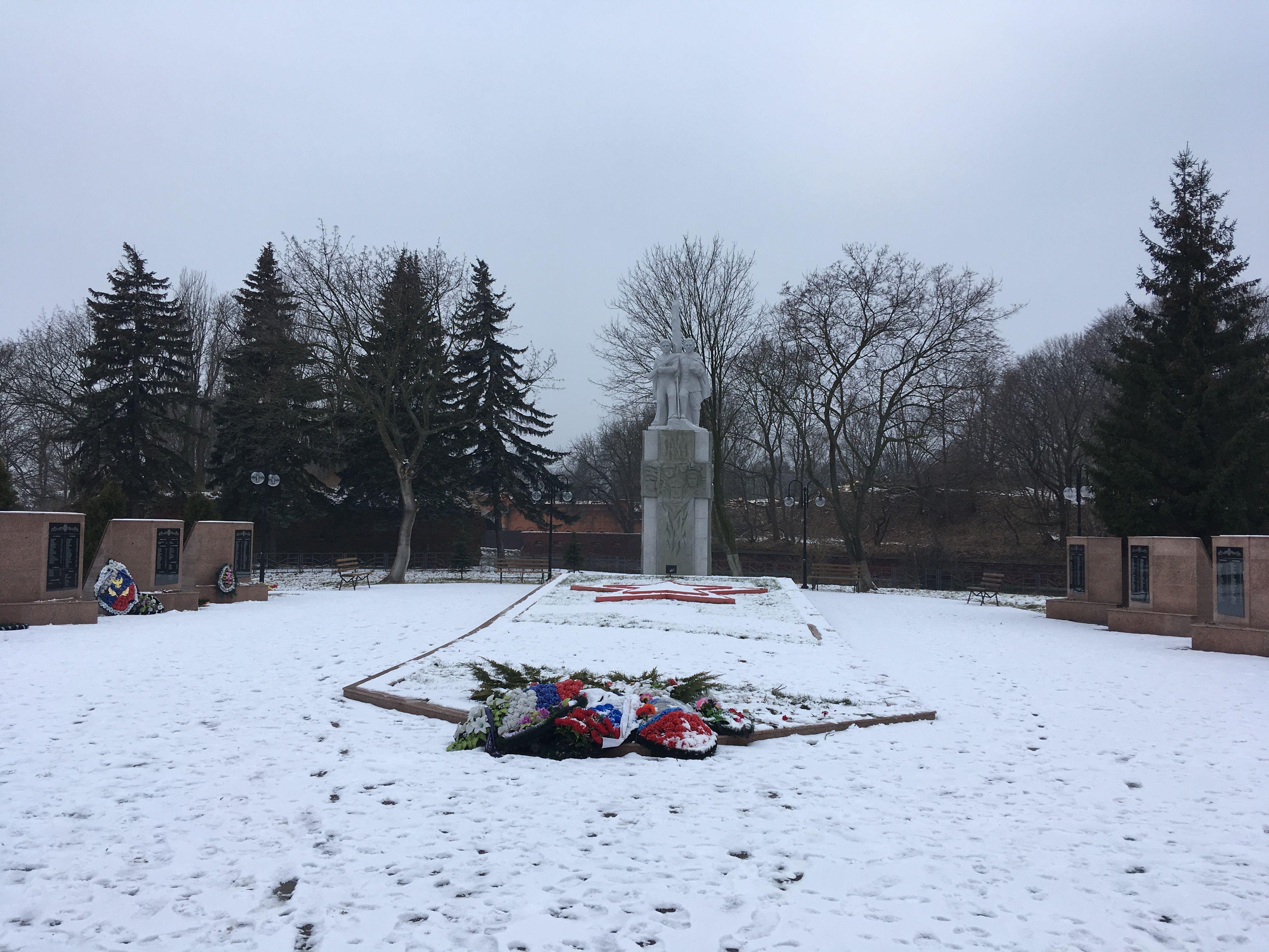 Мемориал воинам, павшим при штурме Пиллау. Фото: Vladimir Shveda