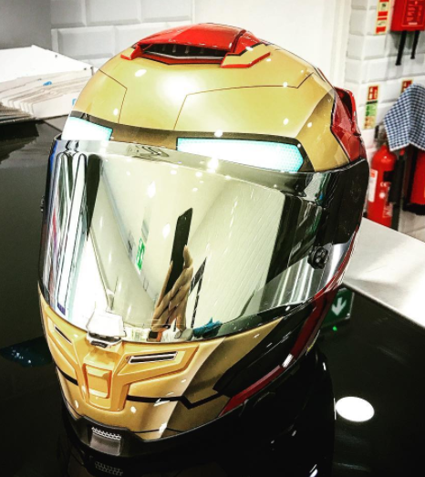 HJC RPHA Unisex-Adult Full Face RPHA 70 ST Iron Man Helmet fcb789a7f60a0
