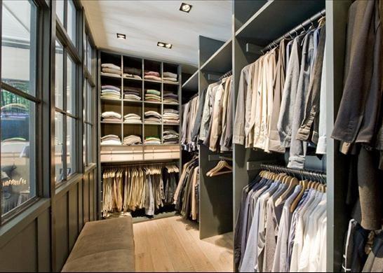 Walk-in wardrobe, Marylebone