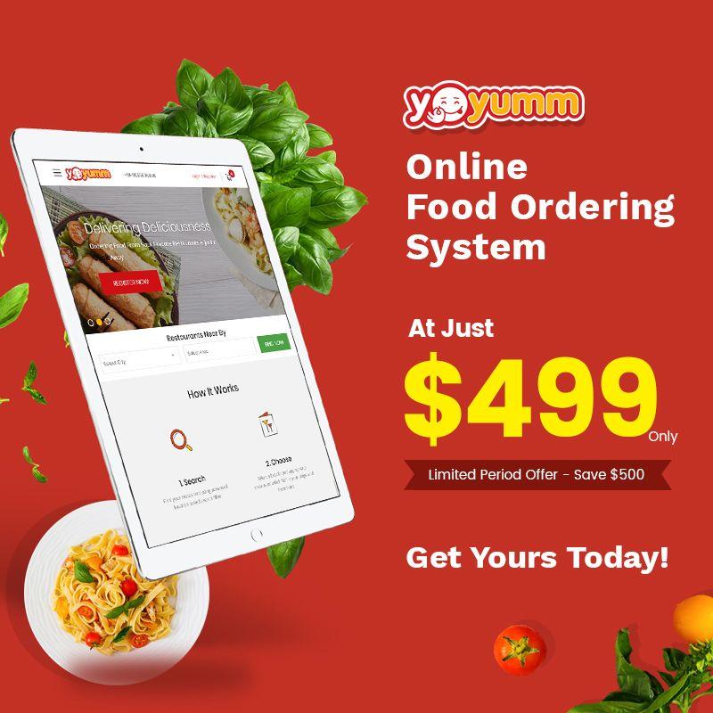Now Launch Your Online Food Ordering Website At Just 499 Online Food Order Food Food Delivery App