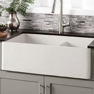 White Apron Farmhouse Kitchen Sinks List! Check out the most ...
