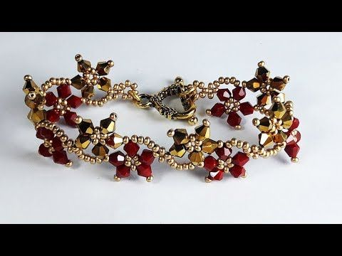 Erguvan Bileklik yapımı eğitici( Bracelet DIY  easy tutorial) #beads
