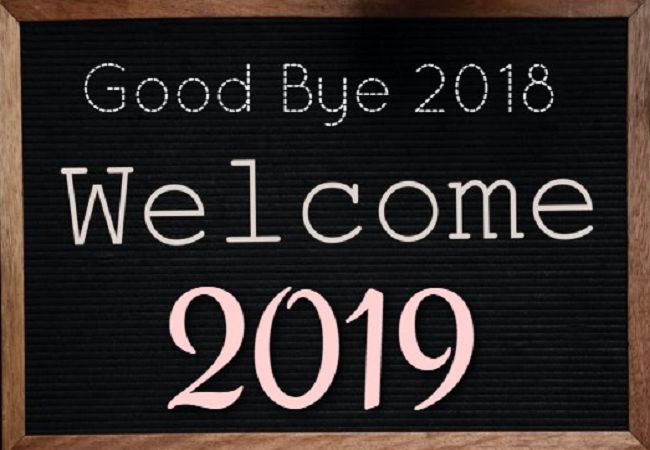 Baby Coming Soon Quotes Quotations Sayings 2019: Bye Bye 2018 Hello 2019 Images,