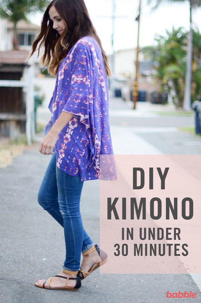 Hazte un kimono | Ideas para manualidades / DIY | Pinterest