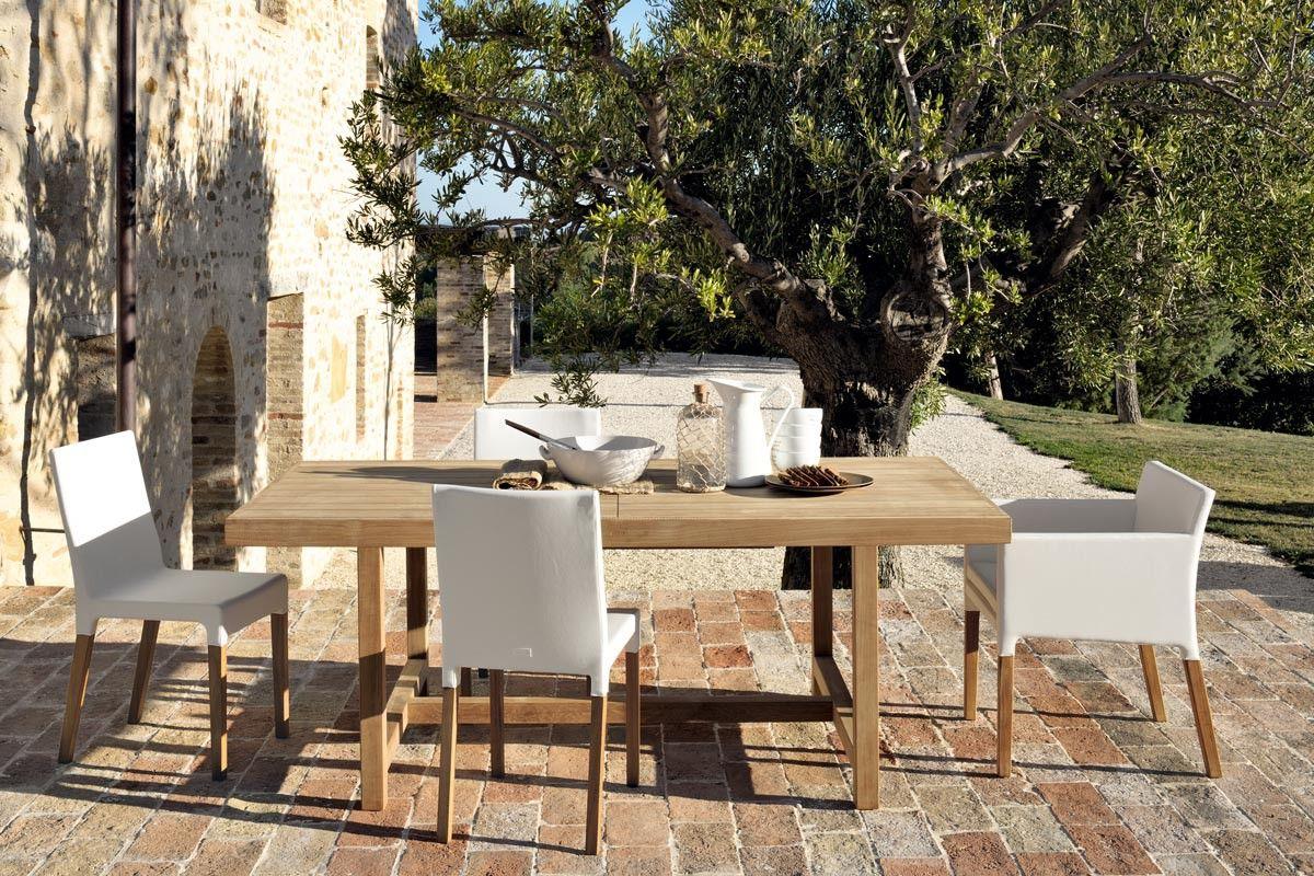 Table rectangulaire de jardin Antibes - Unopiù | PROJET / PROVENCAL ...