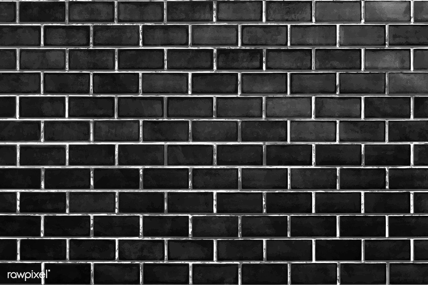 Black Brick Wall Textured Background Vector Free Image By Rawpixel Com Aom Woraluck Chim Kung Ploy Black Brick Wall Brick Wall Textured Walls