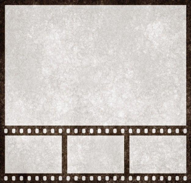 tira de película grunge plantilla de presentación Foto Gratis ...