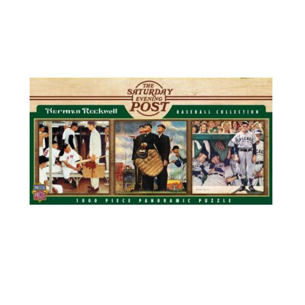 1000 Piece Ballpark Puzzle - Saturday Evening Post