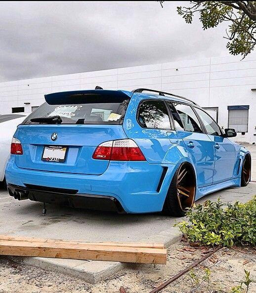 #BMW #M5 #Wagon #VIP_Modular_Wheels #Wide_Body #Slammed