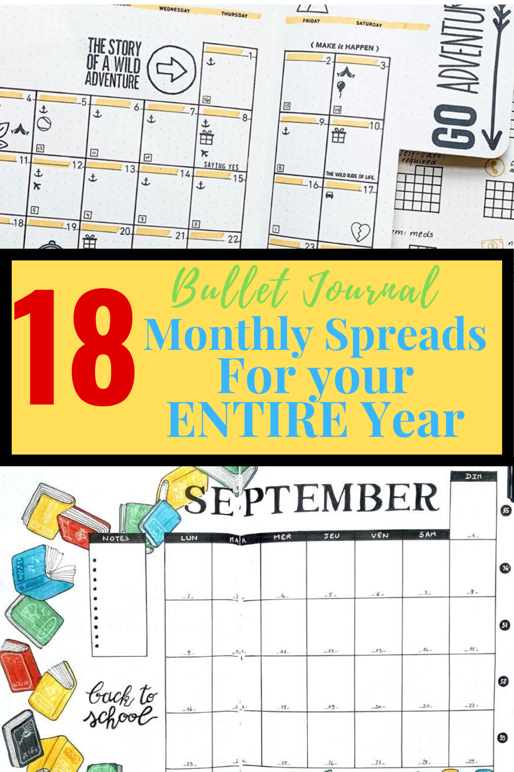 Monthly Spreads For Every Month Of 2020 And More In 2020 Journal