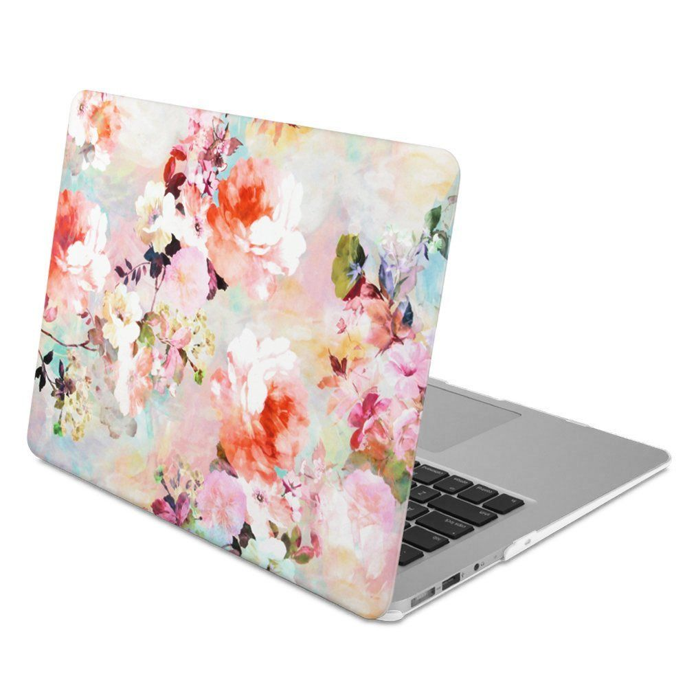 Amazon Com Gmyle Rubber Coated Frosted Hard Shell Case Cover Print For Macbook Air 13 Inch Model A1369 A1466 Macbook Hard Case Macbook Wood Macbook Case