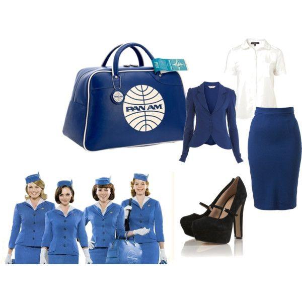 My Pan Am Halloween Costume Idea(  sc 1 st  Pinterest & My Pan Am Halloween Costume Idea(: | clothing//accessorize ...