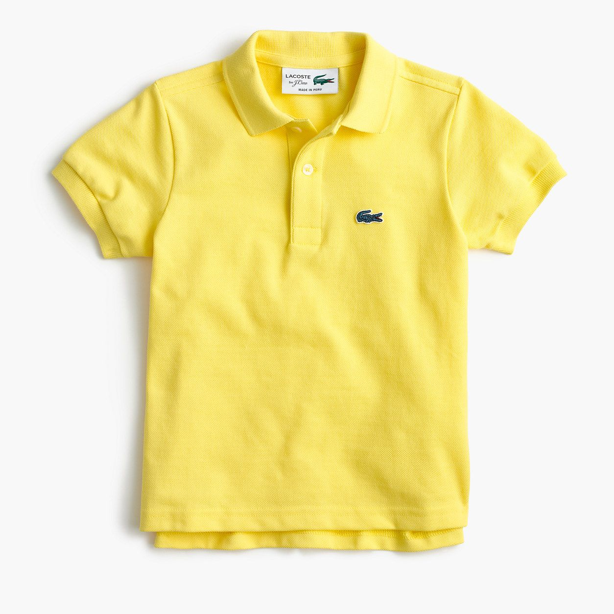 787cdae6 crewcuts Boys Lacoste For J.Crew Polo Shirt (Size 14 Kid) | Products ...