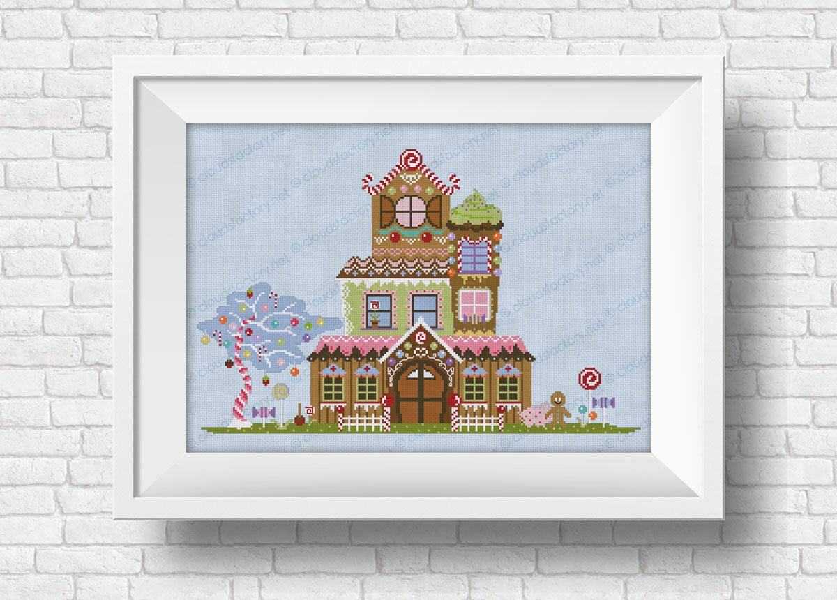 Fill the House With Cross-Stitch
