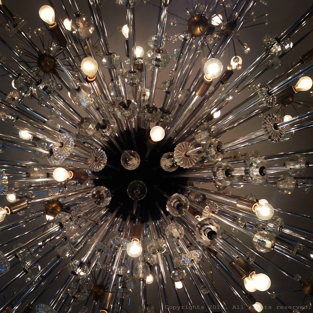 Chandelier at The Met.