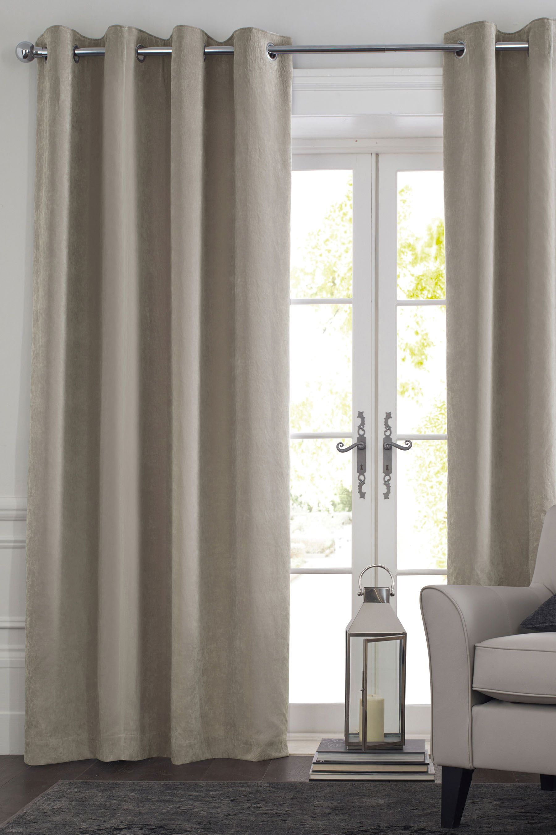 Buy Soft Velour Eyelet Curtains From The Next Uk Online Shop Curtains Curtains With Blinds Lined Curtains