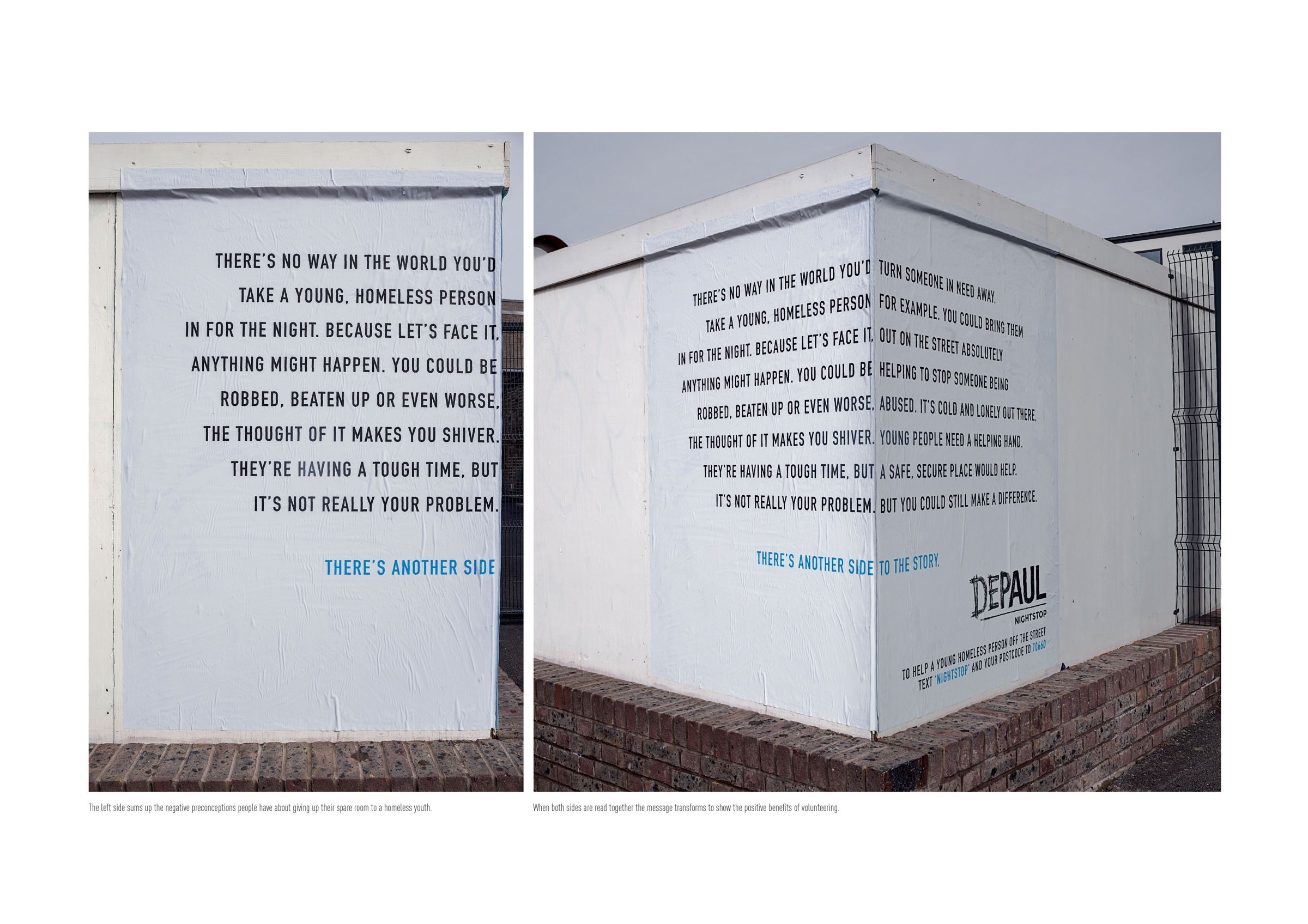 Color printing depaul - There S Another Side To The Story Serious Advertising Depaul Ad Street