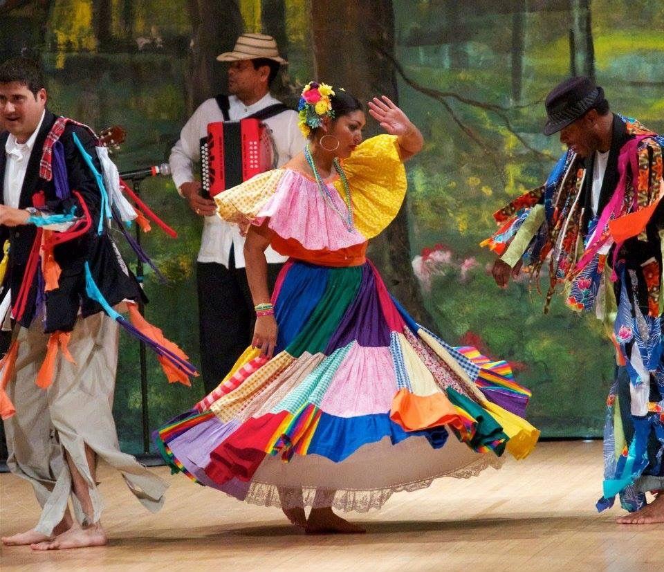 Pollera Congo Panama | Panama Culture in 2019 | Panama ...