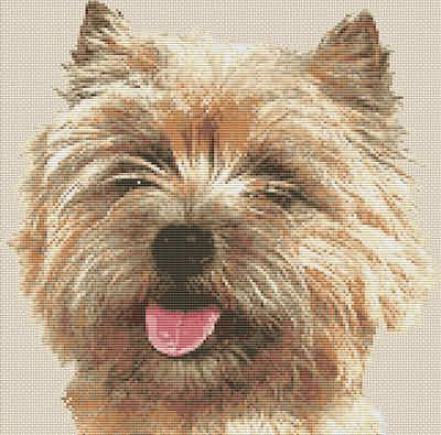 Terrier Cairn Terrier Dog Cross Stitch Chart By Email Cairn