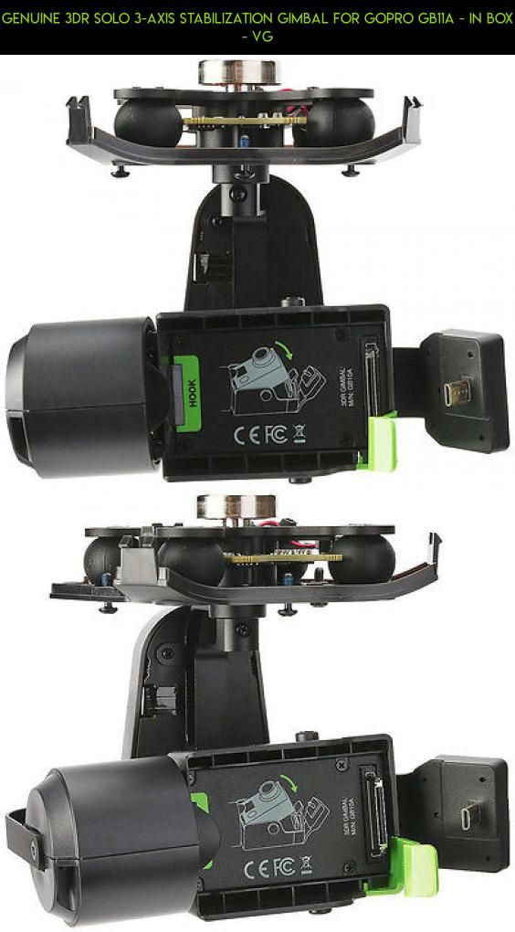 Genuine 3DR Solo 3-Axis Stabilization Gimbal For GoPro GB11A