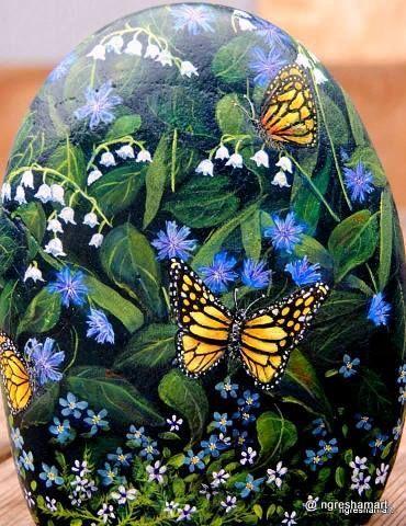 butterflies,art,handpainted rocks,garden decor,gifts for moms