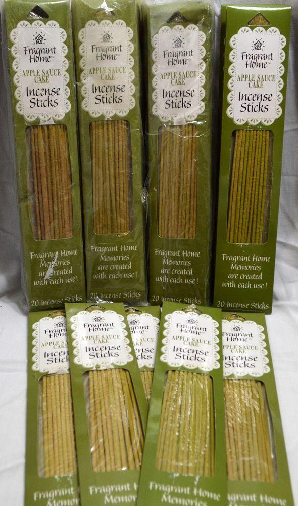 Wholesale Lot Incense Sticks Lot of 28 Packs 560 Total Apple Sauce Cake Spice  #FragrantHome
