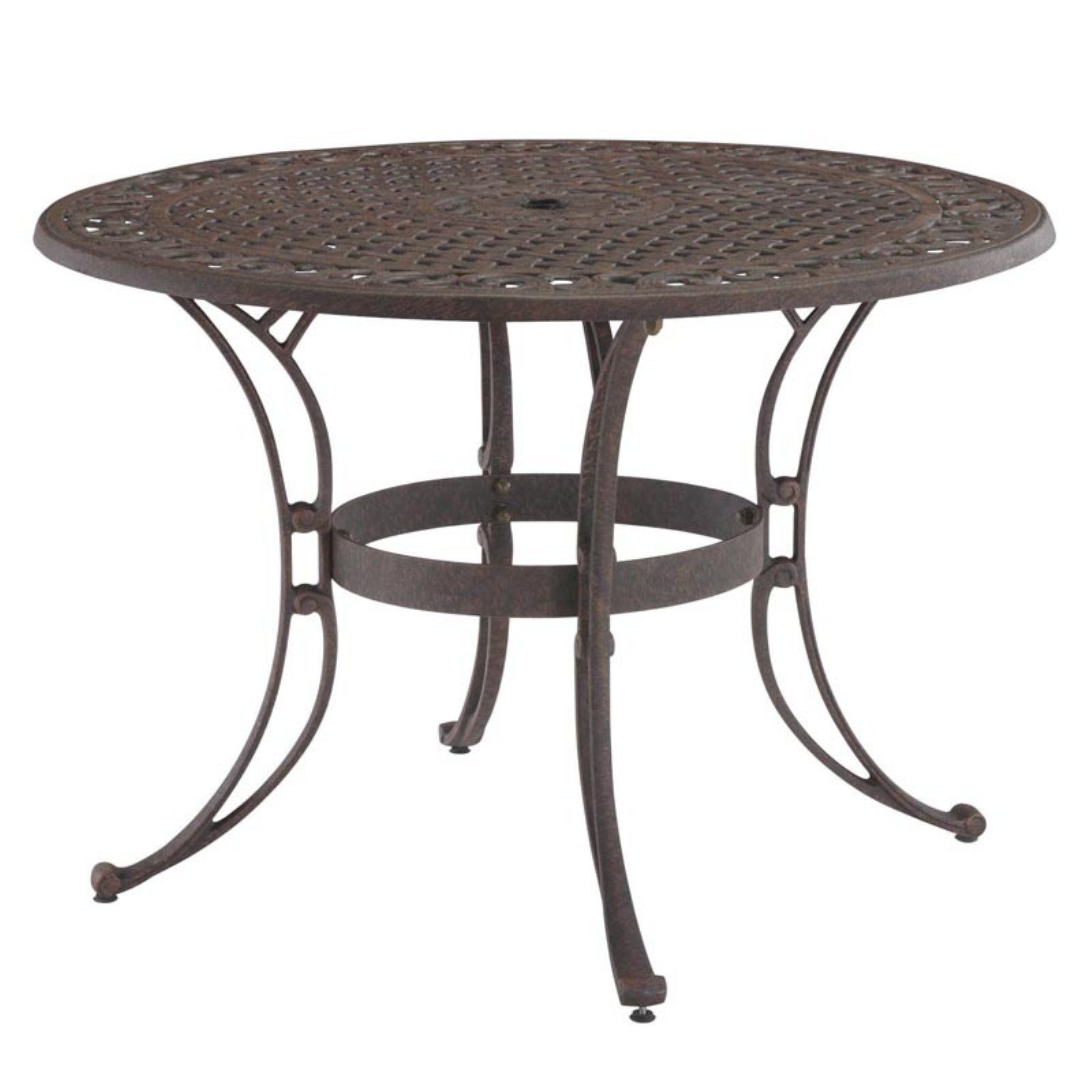 Home Styles Biscayne 48 In Bronze Outdoor Patio Dining Table