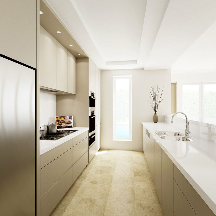 Motorised drawers, Miele appliances (including semi integrated dishwasher)