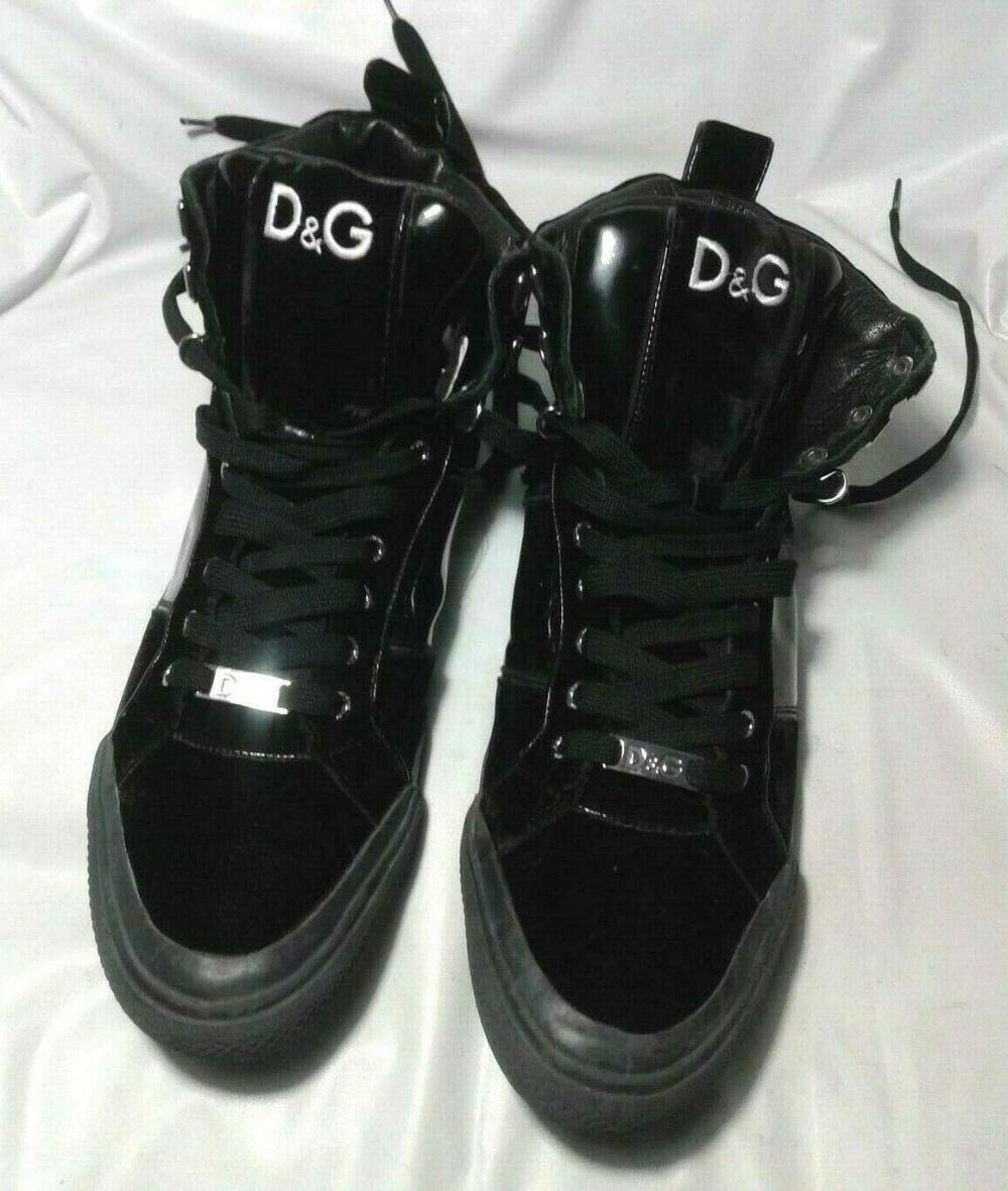 D\u0026G Dolce Gabbana Black Patent High