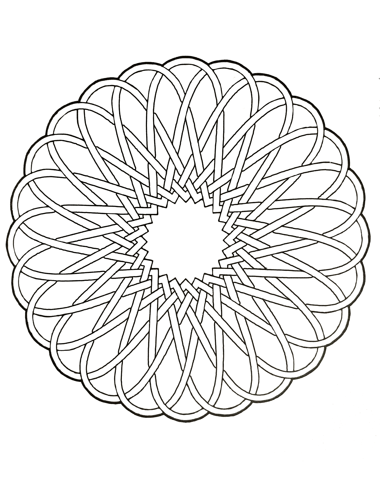 free coloring page mandalas to download for free 12