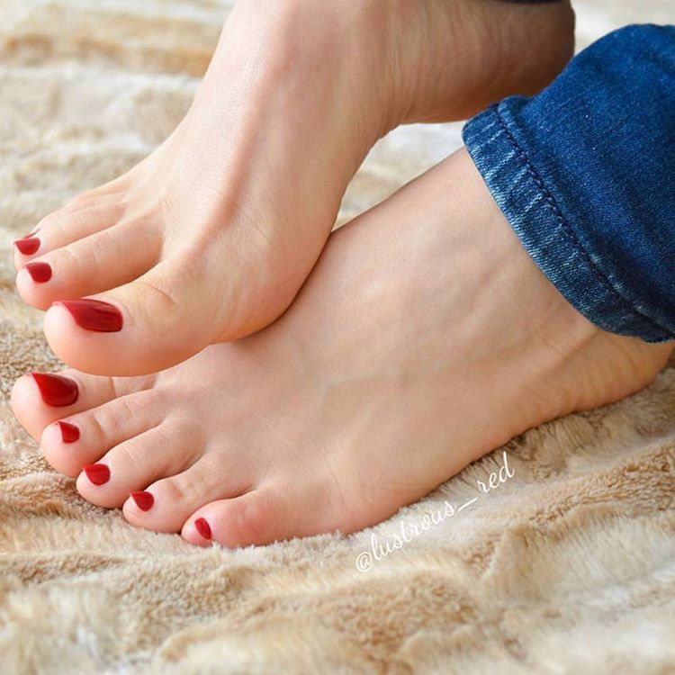 Underneath My Sexy Mean Neighbor's Feet