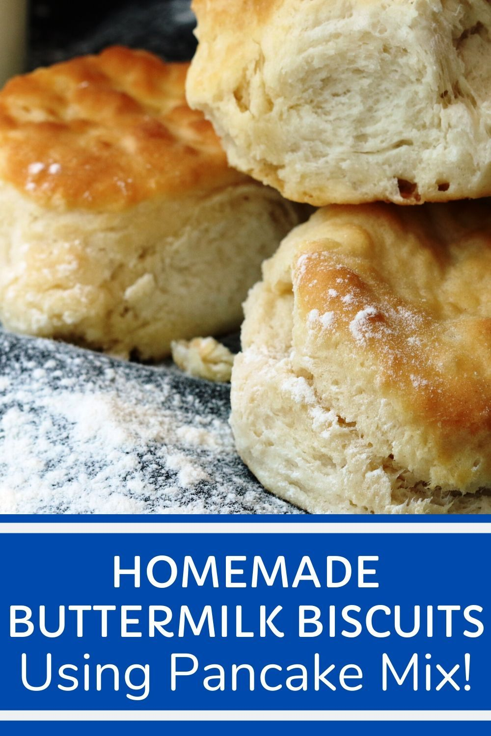 Homemade Buttermilk Biscuits Made With Pancake Mix Versatile Homemade Buttermilk Biscuits Recipe Made With Just 2 Ingredients And Done In