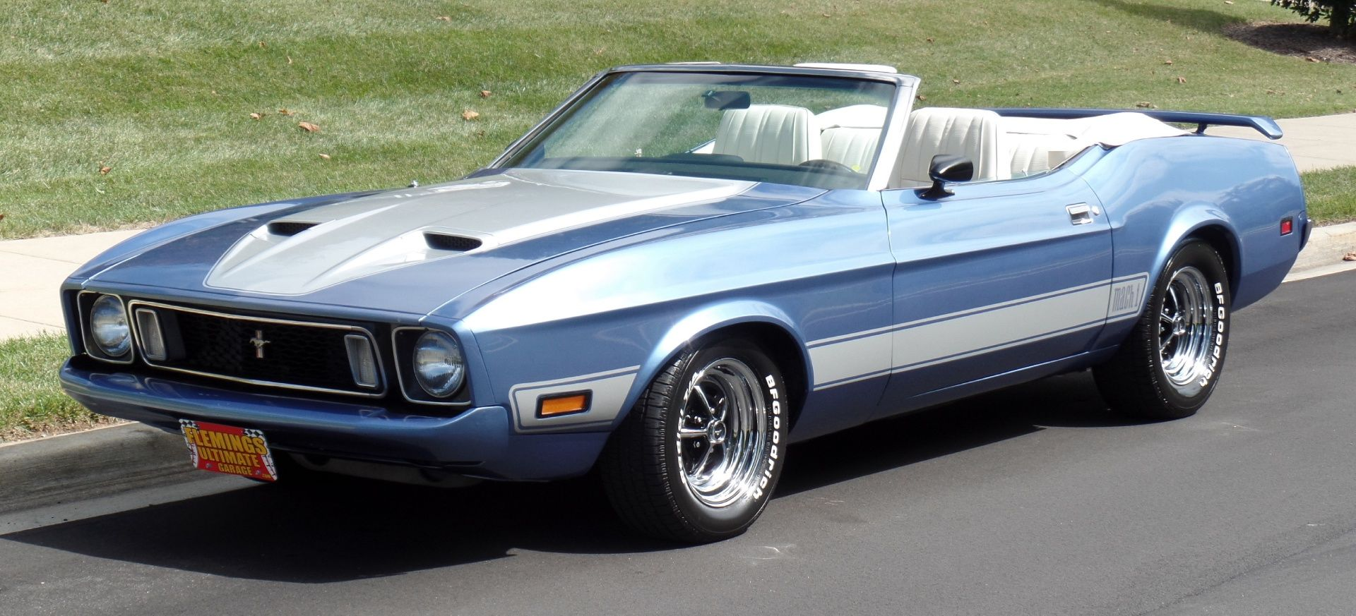 ars for Sale | Flemings Ultimate Garage - :: 1973 Ford Mustang Mach ...