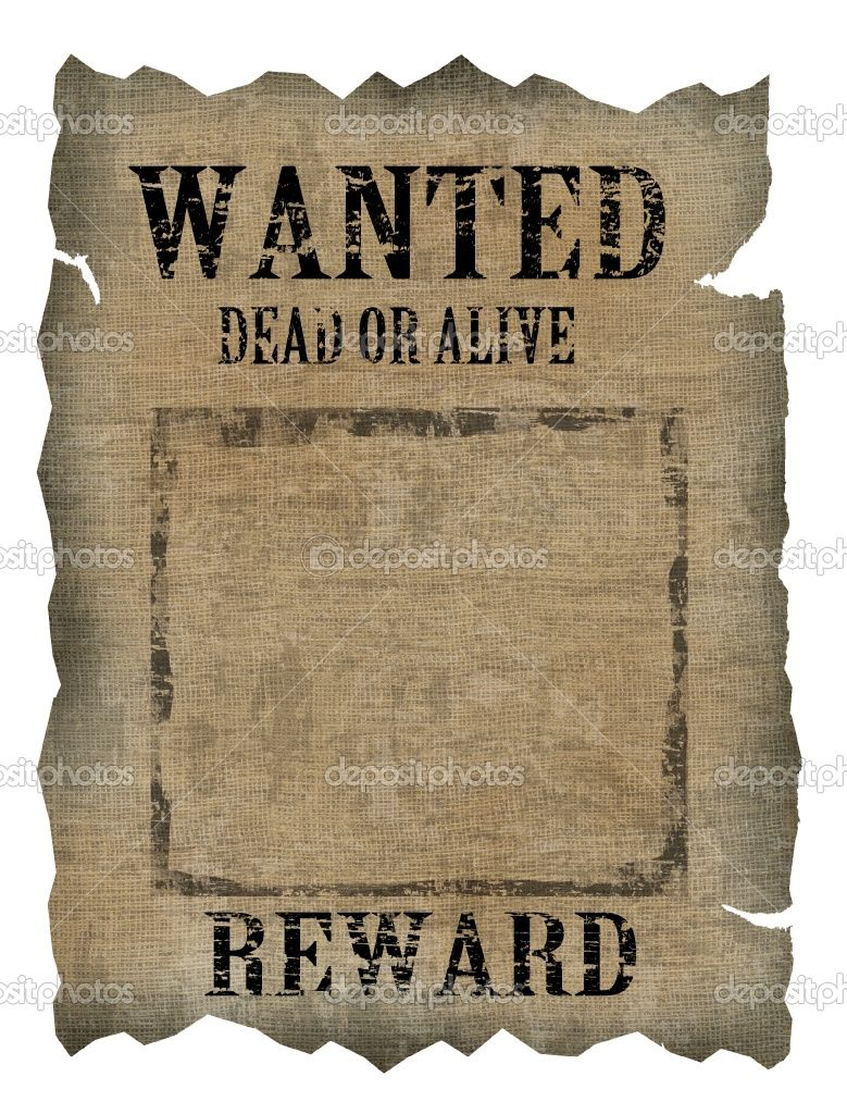 how to make a wanted poster by hand