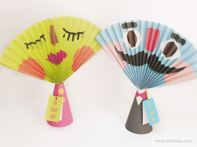 Kids Love When You Make Funny Faces At Them Which Is Why The Paper Fan A Perfect Craft For Now Can Give Your Face Rest