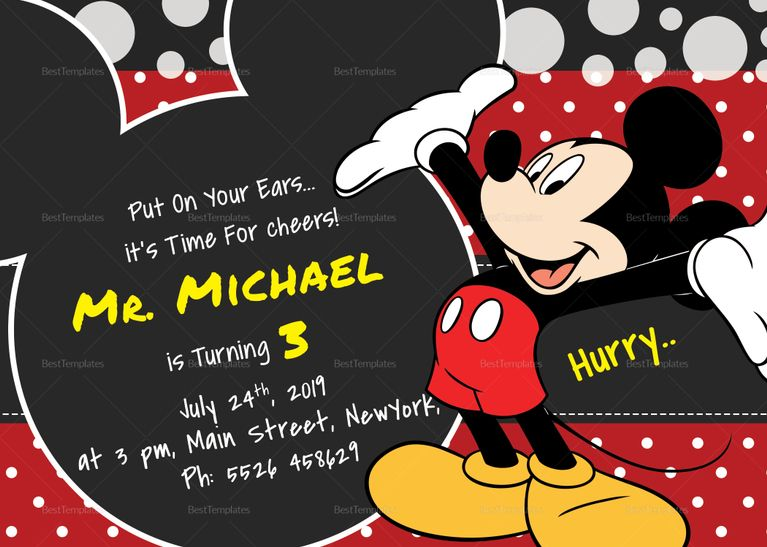 image relating to Free Printable Mickey Mouse 1st Birthday Invitations referred to as Mickey Mouse 1st Birthday Invites Twins 1st b-working day
