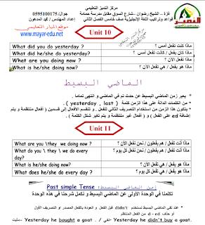 كراسة التراكيب والقواعد للصف الخامس في اللغة الانجليزية للفصل الدراسي الثاني Blog Posts Blog Journal