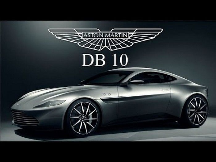 James Bond Conduz Aston Martin Db10 No Novo 007 Spectre 2015