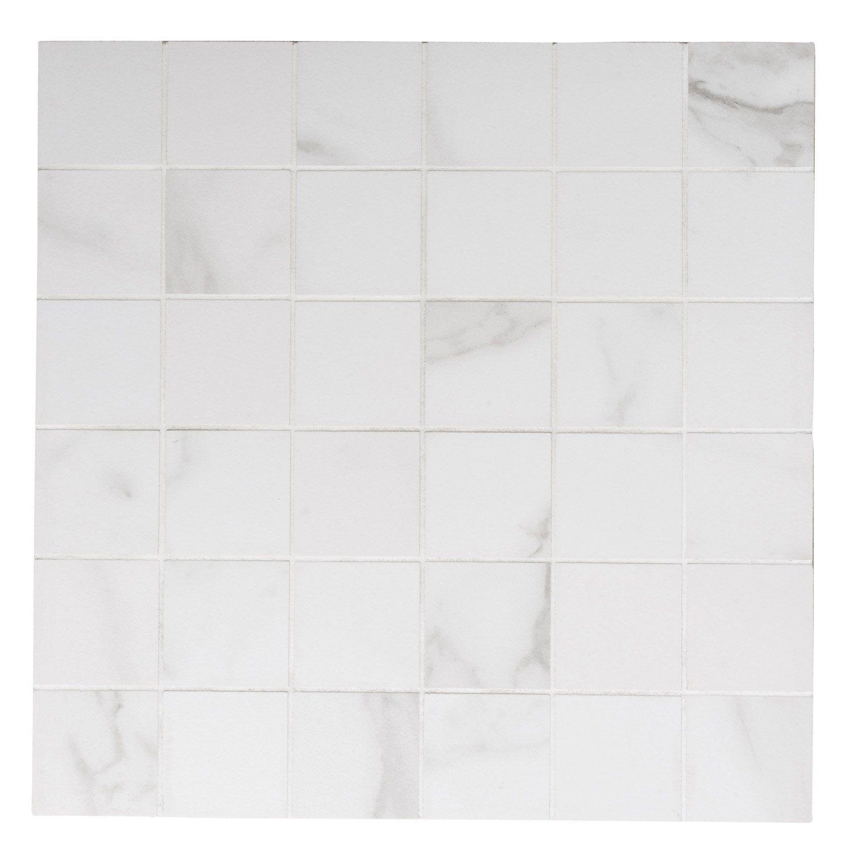 Mosaique Sol Et Mur Murano Blanc 5 X 5 Cm Sol Et Mur Murano Et Mosaique