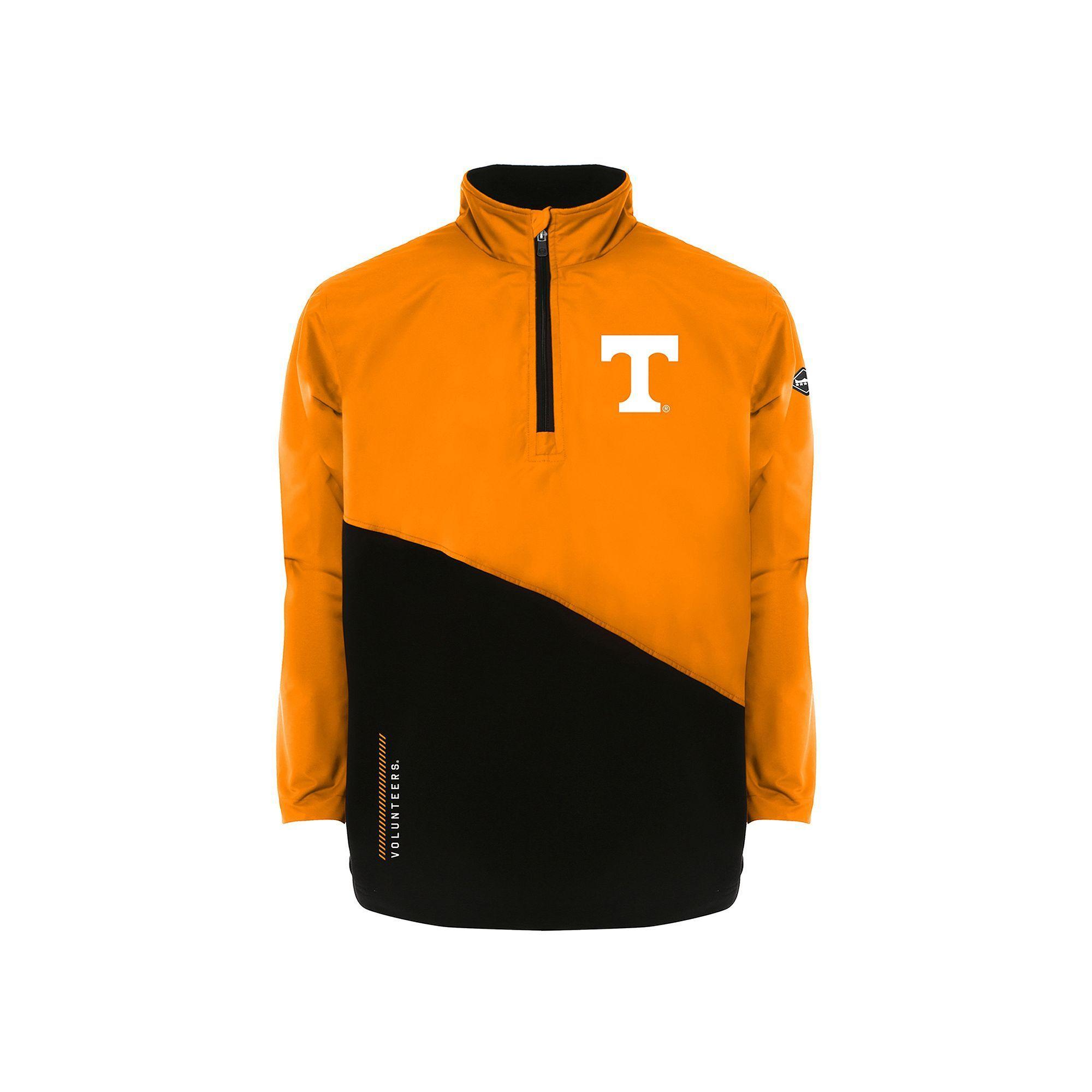 Men's Franchise Club Tennessee Volunteers All-Cover Pullover, Size: Medium, Lt Orange