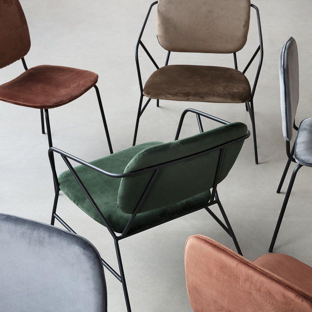 Chaise En Velours House Doctor Sofa Chair Armchair Folding Design