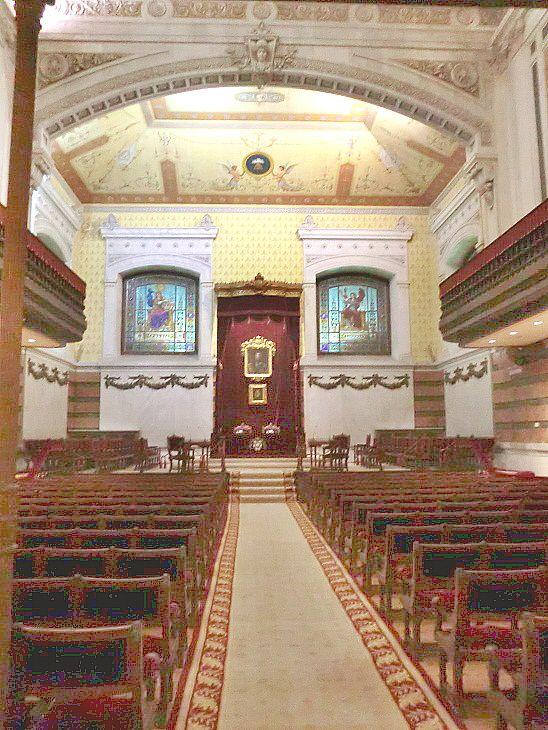 Sala de actos de la Real Academia Española.