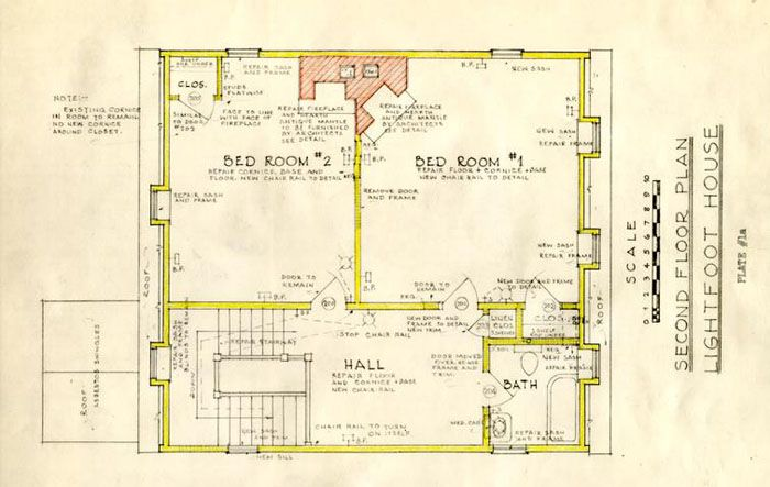 William Lightfoot House Architectural Report Block 11 Building 14 Lot 13 14 Colonial Williamsburg Digita Vintage House Plans House Floor Plans How To Plan