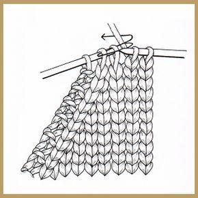 Maschen abnehmen am Rand erfolgt in den Hinreihen durch Abheben oder Zusammenstricken und ergibt in der richtigen Technik gearbeitet einen sauberen Rand #strickenundhäkeln