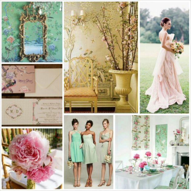Asian Flair Chinoiserie Chic Wedding Theme