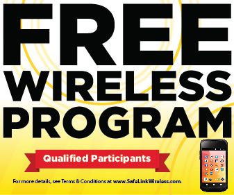 Q Link Wireless will provide you with a free smartphone with free
